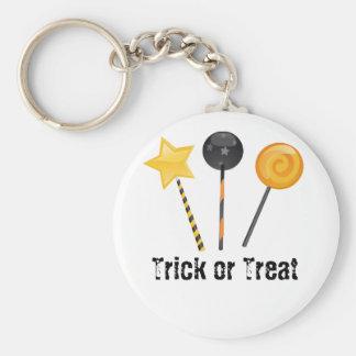 Halloween Trick or Treat Lollipops Key Chains