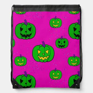Halloween Trick or Treat Cinch Bag