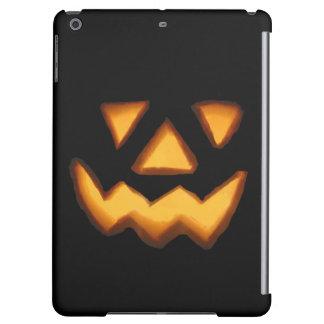 Halloween trick or treat scary pumpkin iPad air cover