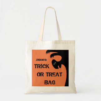 Halloween Trick or Treat Spooky Scary Ghoul Candy Budget Tote Bag