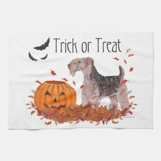 Halloween Trick or Treat Tea Towel