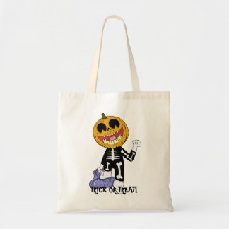 HALLOWEEN TRICK OR TREAT TOTE CANDY BAG