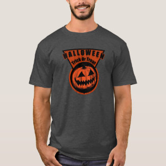 Halloween -Trick Or Treat Triangle T-Shirt