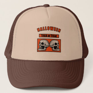 Halloween -Trick Or Treat Trucker Hat