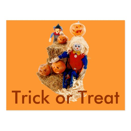 Halloween Trick Or Treats Post Cards