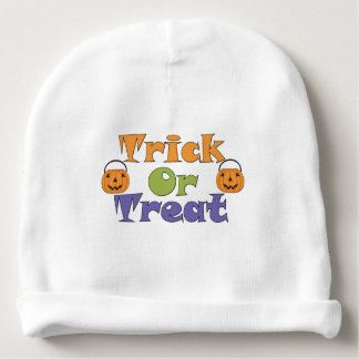 Halloween Trick or Trick Pumpkins Baby Beanie