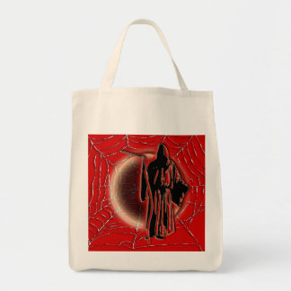 Halloween trick treat kids candy canvas bags