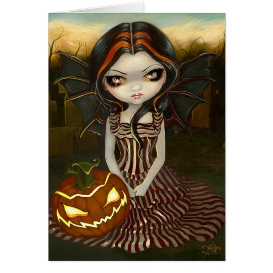 """Halloween Twilight"" Greeting Card"