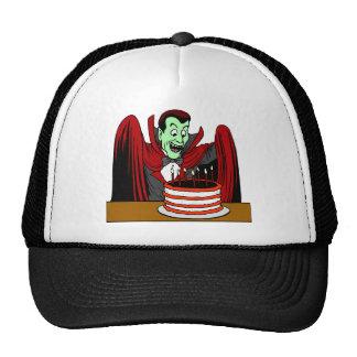 Halloween Vampire Birthday Gift Trucker Hats