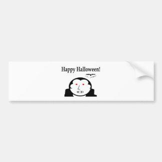 Halloween Vampire Bumper Sticker