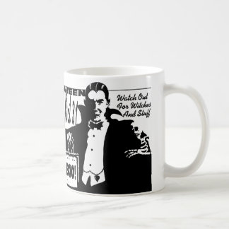 Halloween Vampire Mug