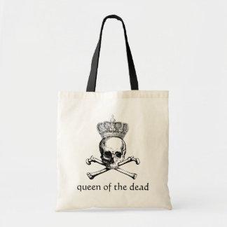 Halloween vintage skull & crossbones queen  dead bag