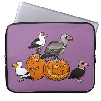 Halloween Vultures Laptop Sleeve