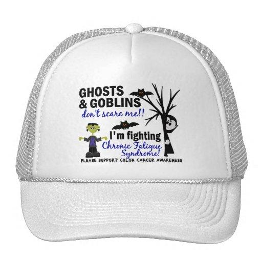 Halloween Warrior CFS Chronic Fatigue Syndrome Trucker Hats