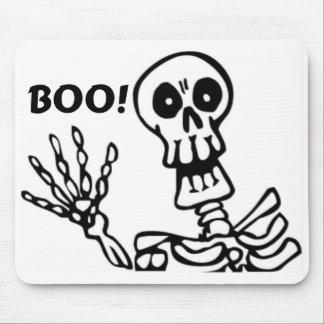Halloween Waving Skeleton Mouse Pads