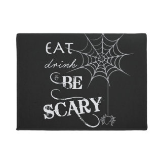 Halloween Welcome Mat | Eat, Drink, & Be Scary
