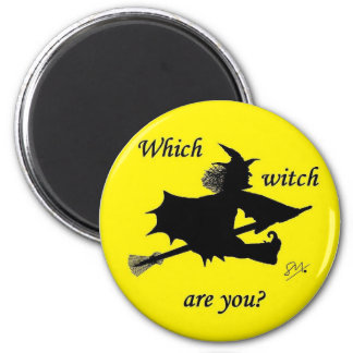 Halloween - Which witch are you Refrigerator Magnet