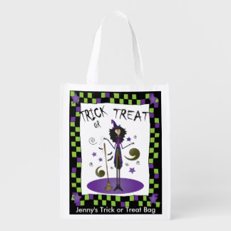 Halloween Whimsical Witch Illustration