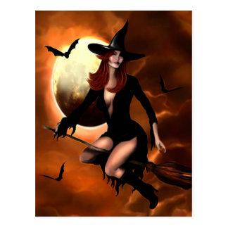 Halloween Witch 2005 Postcard