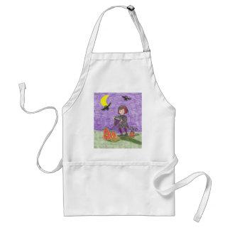 Halloween witch 3 standard apron