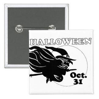 Halloween Witch Pins