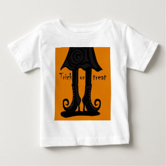 Halloween witch boots baby T-Shirt