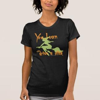 Halloween Witch Broom T-Shirt