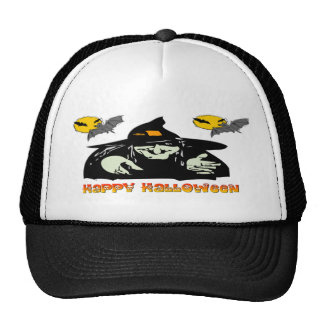Halloween Witch Trucker Hat