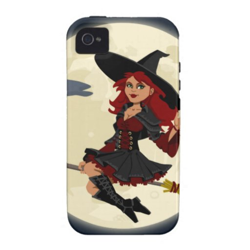 Halloween Witch Vibe iPhone 4 Cover