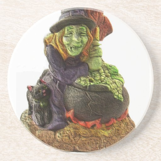 Halloween Witch Coaster