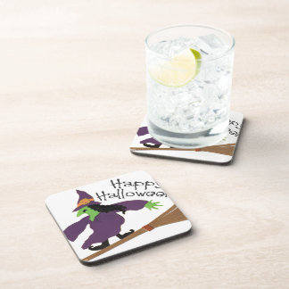 Halloween Witch Drink Coasters