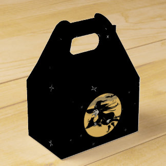 Halloween Witch Favour Box