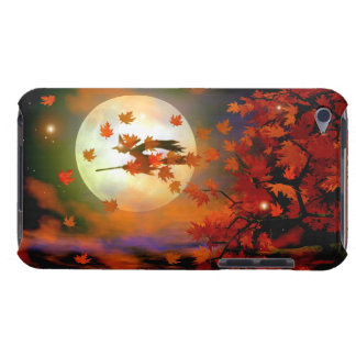 Halloween Witch Flight iPod Case-Mate Cases