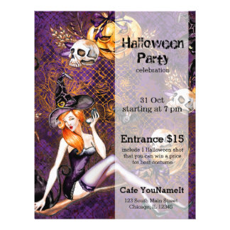 Halloween Witch Flyer