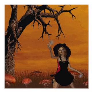 Halloween Witch  Invitations