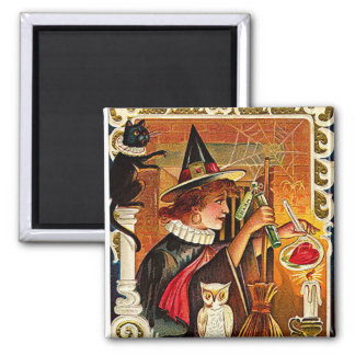 Halloween Witch Lovers Potion Fridge Magnets