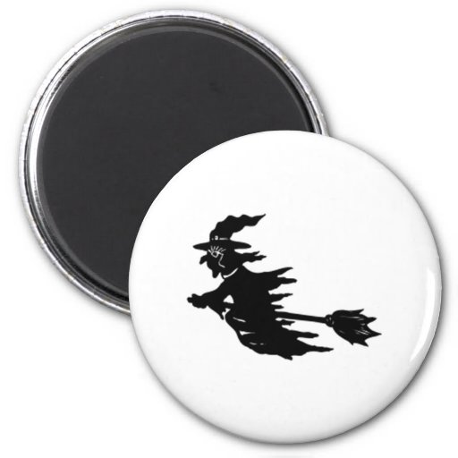 Halloween Witch Magnets