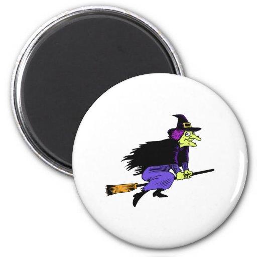 Halloween Witch Fridge Magnets