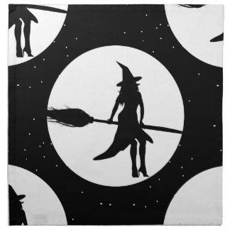 halloween witch napkin