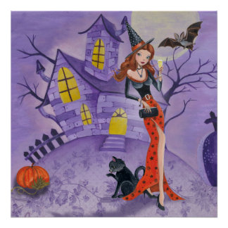 Halloween Witch - Poster