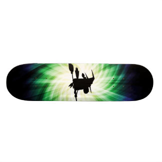 Halloween Witch Silhouette Cool Custom Skate Board