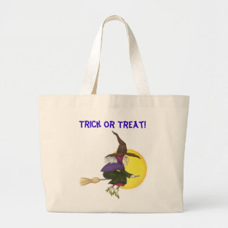 Halloween Witch Canvas Bag