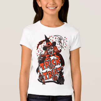 Halloween Witch Trick or Treat Shirts