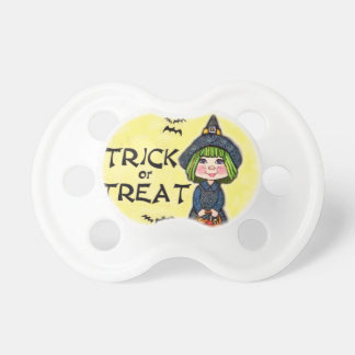 Halloween Witch Trick or Treat Soother