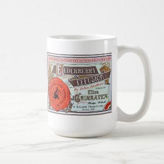 Halloween Witch Vintage Potion Label Mug