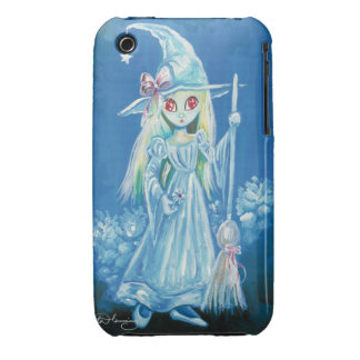 Halloween Witch With Big Red Eyes Case-Mate iPhone 3 Cases