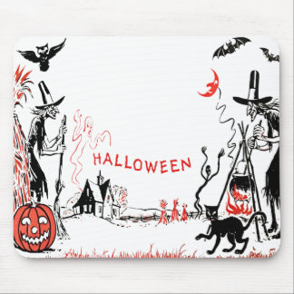 Halloween Witches Mousepad