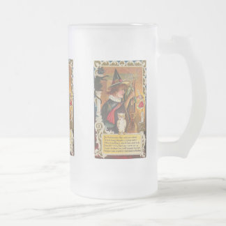 Halloween Witches Vintage Card Mugs, Steins