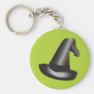 Halloween witch's hat keychain