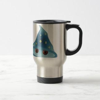 Halloween wizard travel mug